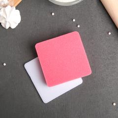 Набор матов для моделирования и сушки цветов из мастики 2 шт 9,5*9,5*1,5см